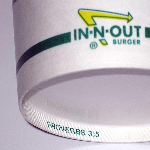 In-N-Out Bible Messages - Milkshake