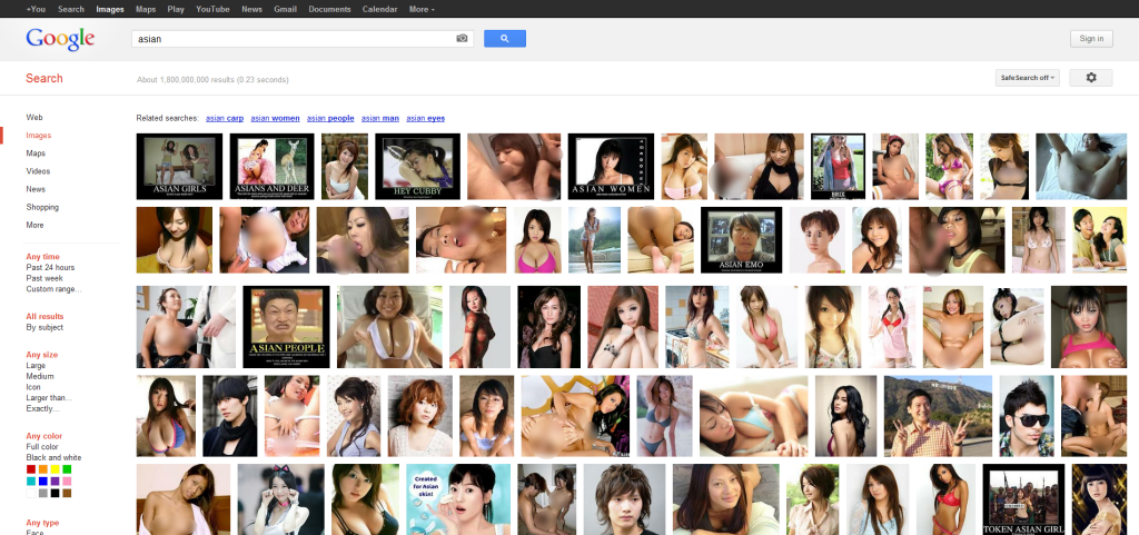 Asian - Google Images Search (censored)