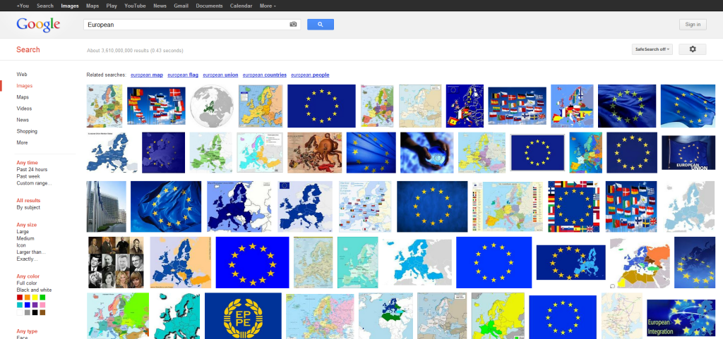 European - Google Images Search